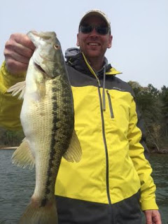 Jimbo's Lake Lanier Spotted Bass Fishing Report: 4/9/2016