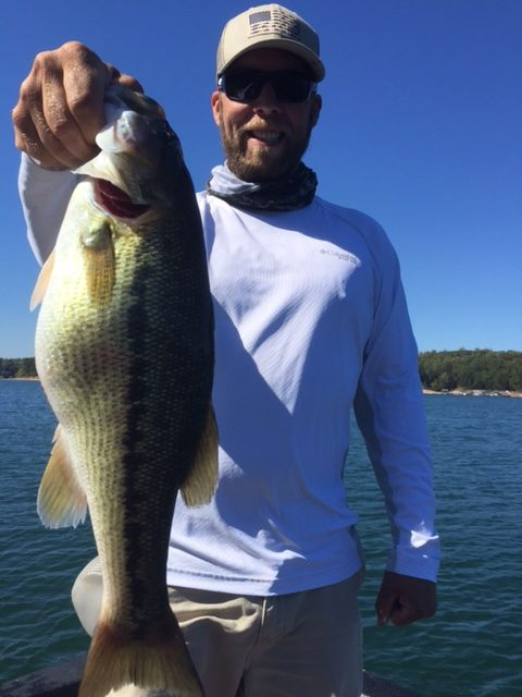 Jimbo's Lake Lanier Bass Fishing Report: 10/25/2017