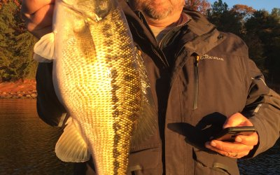 Jimbo's Lanier Fishing Report: 12/5/2017