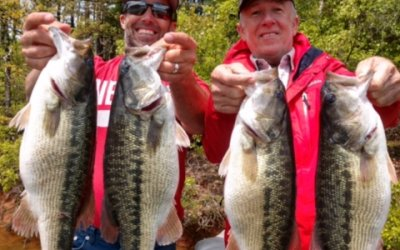 Jimbo's Lake Lanier Spotted Bass Guide Service Fishing Report: 4/24/18
