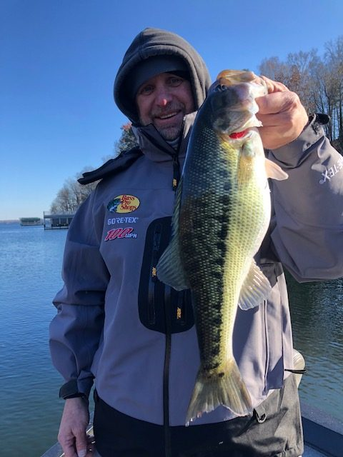 Jimbo's Lake Lanier Bass Fishing Report: 12/8/2018