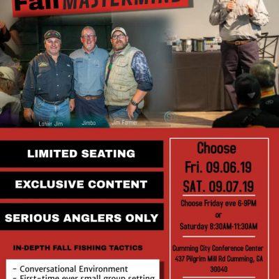 2019 fall mastermind seminar